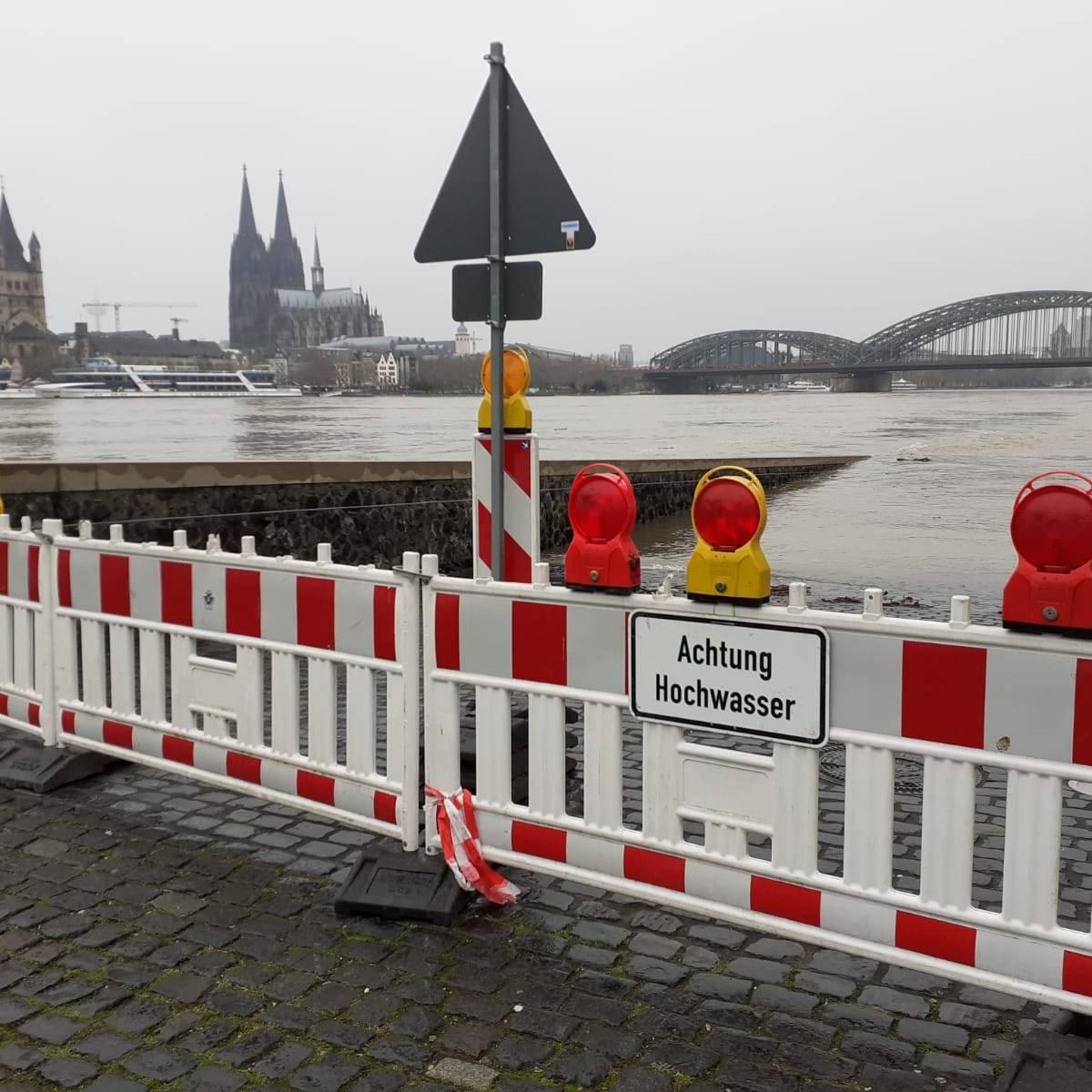 Kölner Rheinpegel